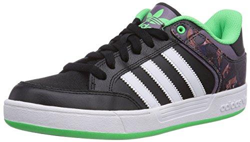 adidas, Sneaker uomo Nero nero, Nero (Schwarz (Core Black/Ash Purple S15-St/Flash Green S15)), 45 1/3