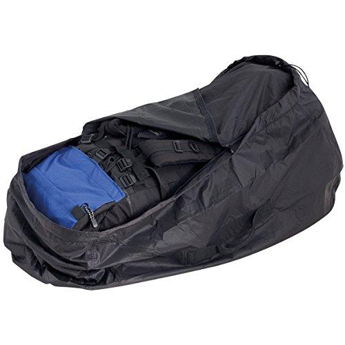 Travelsafe TS2021 Kombipack Rucksack Abdeckung Schutz Regenhülle Flugtasche M (Rucksack Abdeckung Für Flugreisen)