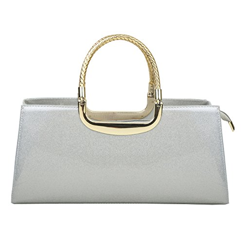LAIDAYE Frau Mode Lackleder Abendtaschen Hand 3