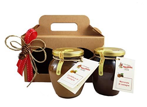Idea regalo fai da te confettura e marronata di castagne igp di montella kit1