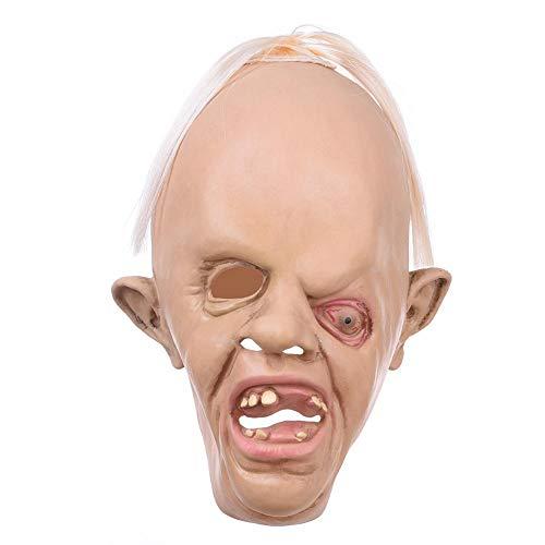 Keng Scary Halloween Dekorationen Peeping Tom Requisiten - Scary Peeper True to Life Fenster Böse Streiche Halloween-Stuff
