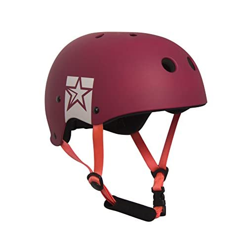 417tk4jU9CL. SS500  - Jobe Unisex's Slam Helmet-Red, Small