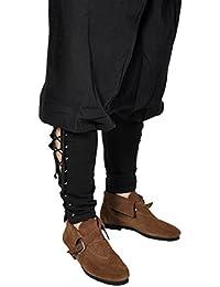 Piraten Hose Mittelalterhose Larp Gothic Gr. S-XXXL Schwarz 4575
