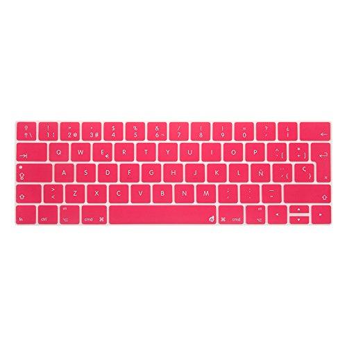 """masino® en silicone pour clavier espagnol clavier ultra fin clavier Peau pour l'Europe Version MacBook Pro 13,315,4""""New sortis en octobre 2016"""