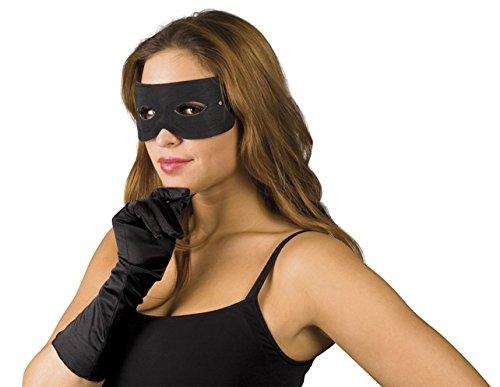 Schwarze Augen-Maske