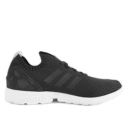 adidas ZX Flux PK Primeknit Solid Grey Black Grey