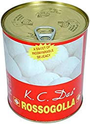 K C Das Bengali Rossogolla | Indian Sweets | Gifting | Cottage Cheese Pudding (1800g Diwali (900g x 2))