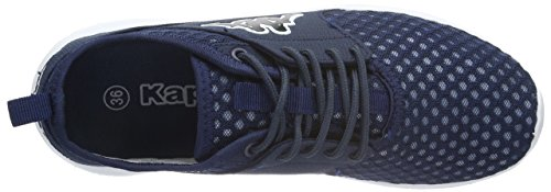 Kappa Sol, Baskets Basses Mixte Adulte Bleu (Navy/white)