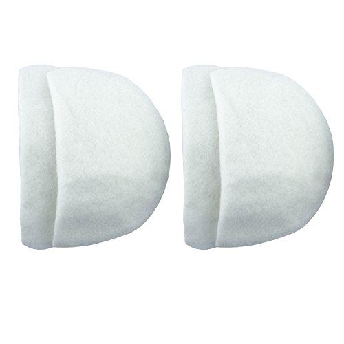 Hand® NO.1067 mittlere leichte weiße Schulterpolster Schneider, Studenten - 2 paar (Klassische, Anzug Maßgeschneiderte)
