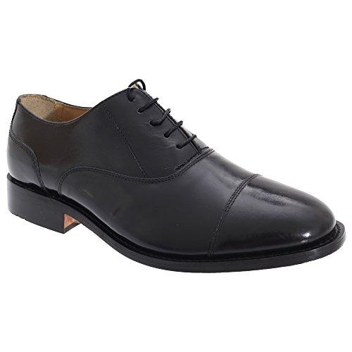 kensington-classics-mens-premimum-argentinian-all-leather-capped-oxford-shoes-11-uk-black