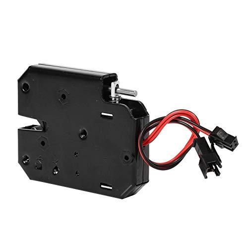 DC 12 V 2A Schublade Elektrisch Magnetschloss Elektromagnet Fail-Safe für Tür Zutrittskontroll System mit Erkennen Schalter -