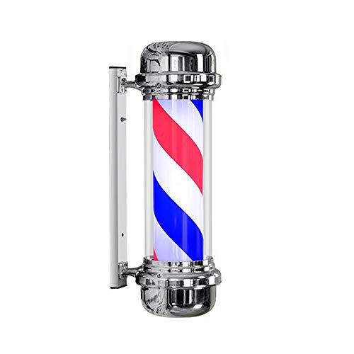 Poste De Barbero Con Forma De Flecha Luminoso Y Con