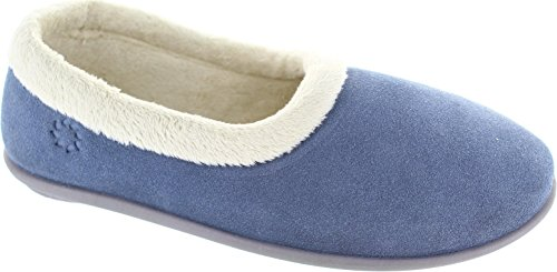 Freestep  Cuckoo, Chaussons pour femme Bleu bleu Bleu - bleu