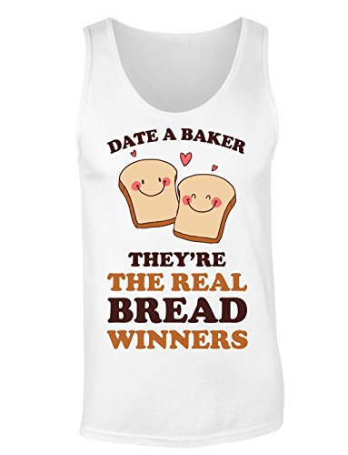 Date A Baker They're The Real Bread Winners Damen Tank Top Extra Large