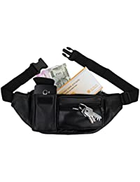 Good Life Stuff Stylish Genuine Leather Waist Pack|| Waist Bag|| Travel Passport Bag|| Travel Accessories Bag|... - B07DR7TMVL