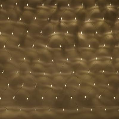 100er Led Lichternetz Warmwei Transparentes Kabel Innen Aussen Typ Sr von Lights4fun