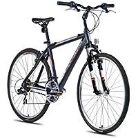 '28pollici Alu leader Fox Away Gand Cross per bici MTB Nero Arancione RH 58cm