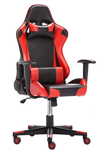 Silla Gamer, IntimaTe WM Heart Silla Gaming Silla Escritorio Giratoria, Altura Ajustable...