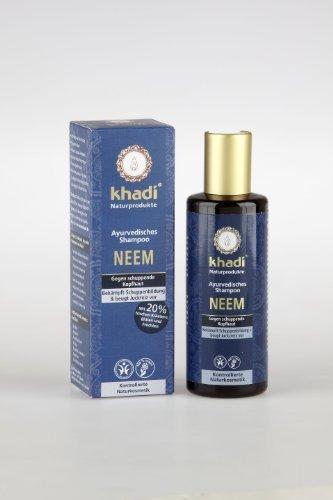 khadi-shampooing-ayurvedique-neem-anti-pellicules-210ml