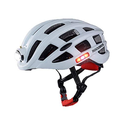 Jugend Rennen (OLEEKA Fahrrad Fahrradhelm Unisex Fahrradhelm mit LED-Licht, Männer Frauen Jugend Ultra Adjustable, Skateboard Climb Rennen Scooter Helm)