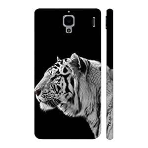 Enthopia Designer Hardshell Case White Tiger 2 Back Cover for Xiaomi Redmi 1S