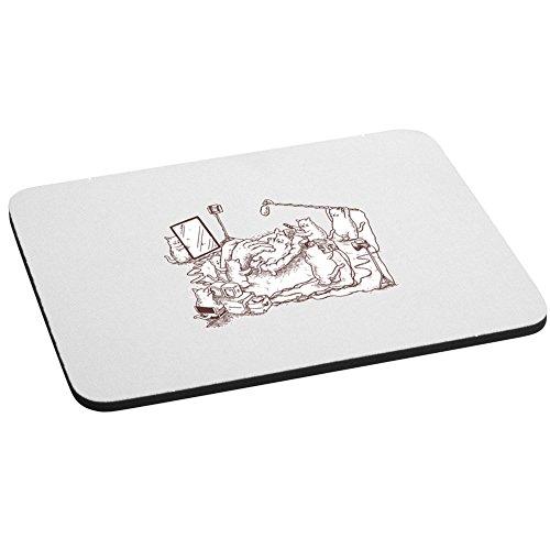 Computer Maus Pad-Hinter die Kulissen-Parodie Design