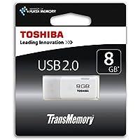 Toshiba TransMemory 8GB USB 2.0 Stick, weiß
