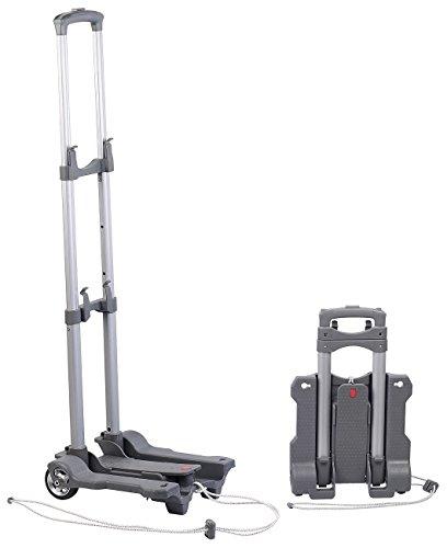 Xcase Trolley: Ultra-kompakte Falt-Sackkarre mit Nylon-Rädern, bis 45 kg belastbar (Karre)