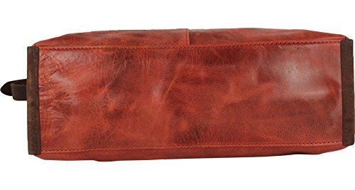 Harold's Stag borsa a spalla pelle 30 cm Marrone