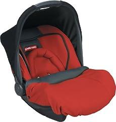 Idea Regalo - Patron BATMMY212AAK1628S Mimmo Plus - Seggiolino auto per bambini/ovetto, gruppo 0+, da 0 a 13 kg, colore: Rosso peperoncino
