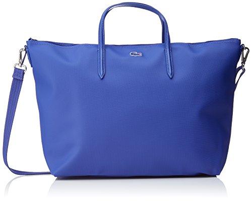 Lacoste Damen L1212 Concept Umhängetaschen, 14 x 30 x 35 cm Bleu (Surf The Web)