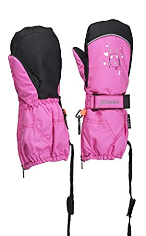 Sinner Timber Gants Fille, Rose Néon, FR : 4-5 Ans
