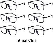 Blue Light Blocking Glasses for Computer - Anti Glare Fatigue Blocking Headaches Eye Strain - TR90 Frame