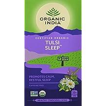 Organic India Tulsi Sleep Tea Bags, 25 Tea Bags