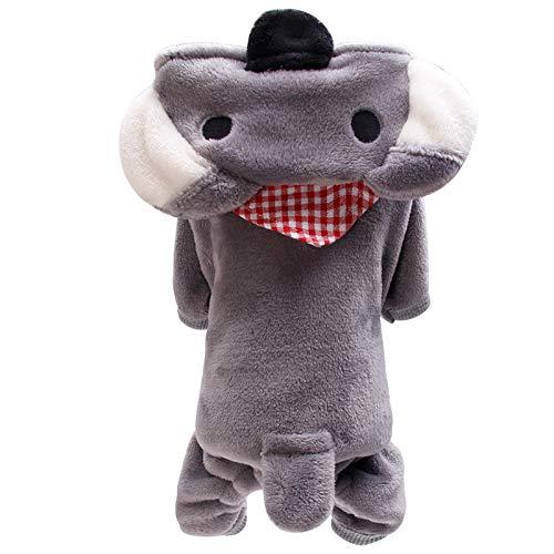 Hunde Schaf Kostüm Xl - Hunde Pullover FüR Kleine Hunde,Schaf Winter Warm Gepolsterte Verdickung Mantel Hund Kostüme Haustier Kleidung(XL,#Grau)
