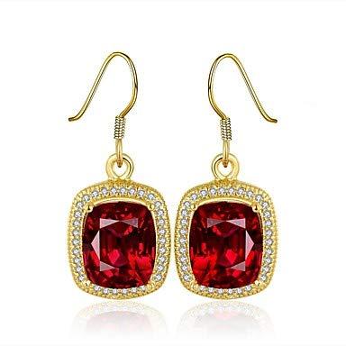 Frauen Zirkonia High End Kristall Ohrringe 18 Karat Vergoldet Zirkonia Ohrringe Vintage Modeschmuck Für Hochzeit Täglichen Lässigen Arbeit