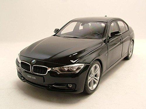 Preisvergleich Produktbild BMW F30 335i schwarz Modellauto 18043 Welly 1:18