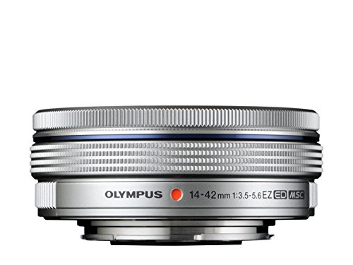 Compare Prices for Olympus M.ZUIKO DIGITAL ED 14-42mm 1:3.5-5.6 EZ Lens – Silver Discount