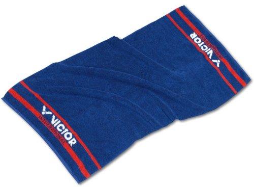 Victor Badelaken Handtuch-Blau/Rot/Weiß