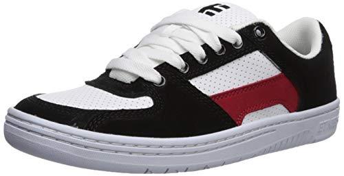 Etnies Herren Senix Lo, schwarz/weiß/rot, 44 EU -
