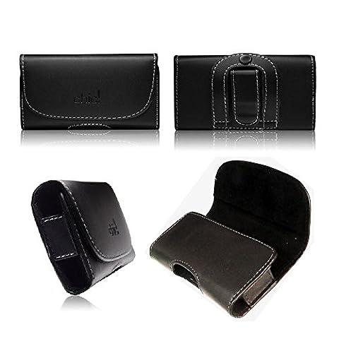 tag-24 CHIC Quertasche Gürteltasche Handycase Box Etui passend für LG G Pro Lite Dual