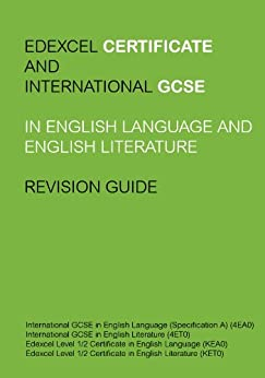 edexcel english language and literature coursework The cambridge igcse english literature syllabus enables learners to read, interpret and evaluate texts through the study of literature in english change language.