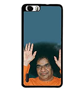 Sathya Sai Baba 2D Hard Polycarbonate Designer Back Case Cover for Huawei Honor 6