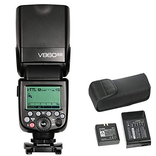 Godox Ving V860II-N Camera Flash Speedlite, TTL 2 4G HSS Speedlight for  Nikon DSLR Cameras Nikon D800 D700 D7100 D7000 D5200 D5100 D5000 D300 D300S