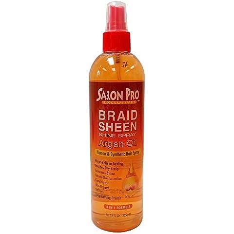 Salon Pro Braid Sheen Shine Spray 8