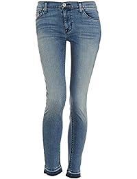 Hudson - Nico Midrise Super Skinny Jeans femme -