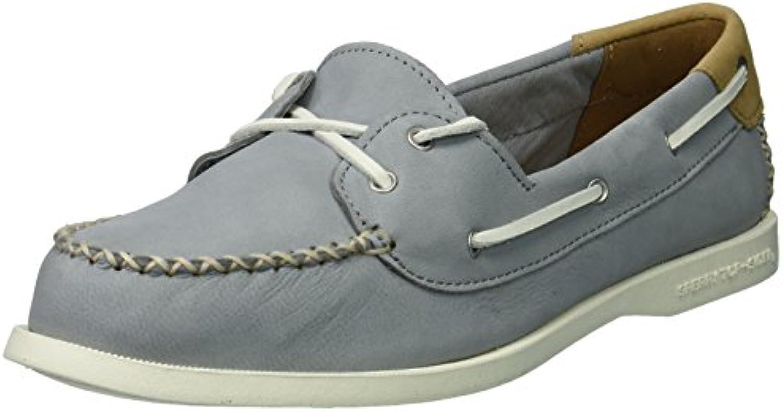Sperry Wouomo A O Venice Leather Boat Boat Boat scarpe, grigio, 12 Medium US | Forte valore  | Uomo/Donna Scarpa  2dd654