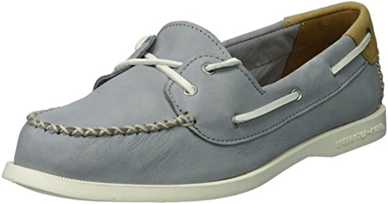 Sperry Top-Sider Wouomo A O Venice Leather Boat scarpe, grigio, 7.5 Medium US   Varietà Grande    Uomo/Donna Scarpa