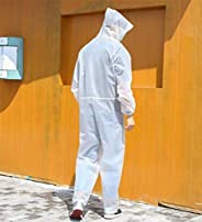 Reusable Protective Isolation Gown,EVA Waterproof Dust-Proof Raincoat,Work Clothes,Coveralls,Overalls