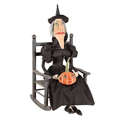 GALLERIE II Gathered Traditions Victoria Hexe Collectible Figur, schwarz